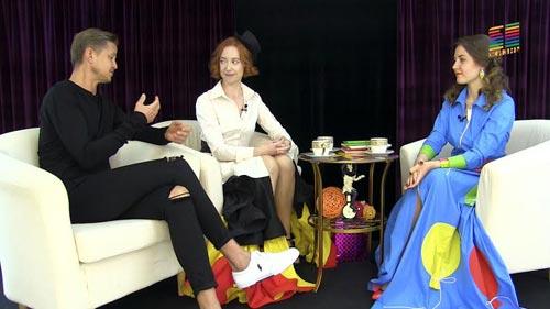 Сабина Горелик и Игорь Калмыков в программе «Circus Glamour»