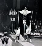 Вовка Пугачев собирается исполнить два вперед с полвинтом!!!Акробатический ансамбль Русь п.р. Довейко В. В. младшего. 1980г..jpg