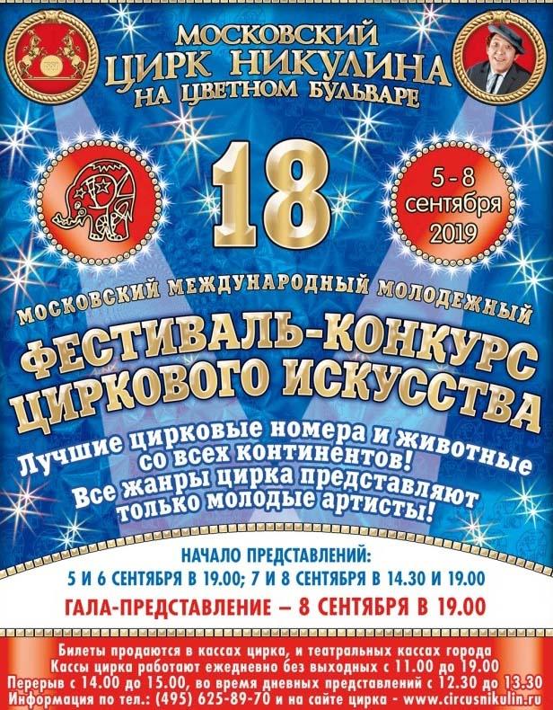 Итоги 18-го Международного фестиваля циркового искусства в цирке Никулина