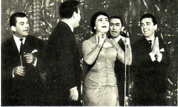 Певица В. Майсурадзе