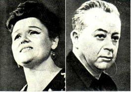 Людмила Зыкина, Никита Богословский