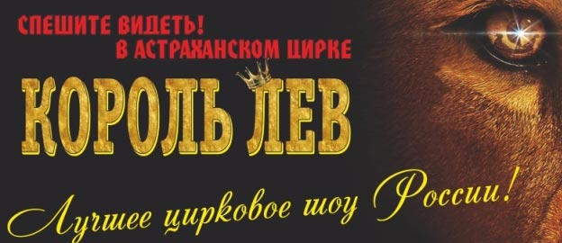 "Цирковая программа ""Король Лев"""