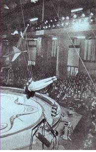 Гастроли советских артистов цирка в Италии проходили в больших залах