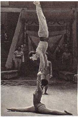 Партерные акробаты Тудорике
