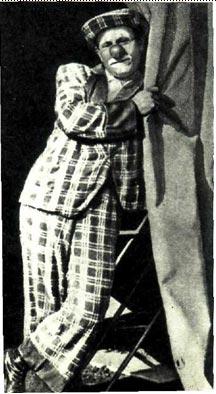 Польский клоун Олейник