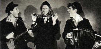«Ярославские ребята» — Ю. ЕПИФАНОВ, Ю. БАЛАШОВ и В. КРОТОВ