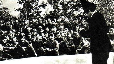 Карандаш в освобожденной Одессе