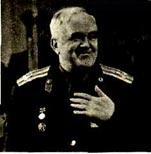 На снимке:  Б. А. Александров отвечает на приветствия. Фото С. ХЕНКИНА