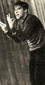Якоб Аркин — известный израильский мим