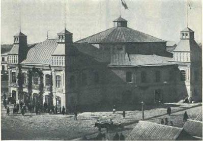 Цирк братьев Никитиных в Нижнем Новгороде, 1884 год
