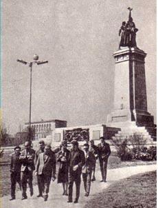 Артисты   советского   цирка на экскурсии в Болгарии
