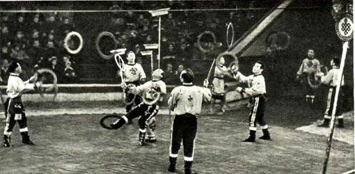 На арене столичного цирка