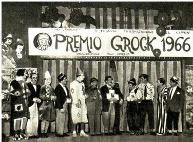 Осенью 1966 года в Милане (Италия) проходил Третий Международный фестиваль клоунов имени выдающегося циркового и эстрадного артиста Грока.