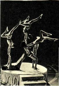 Акробаты Августин