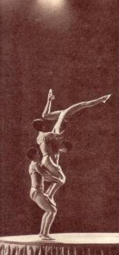 Акробатическое трио Влади
