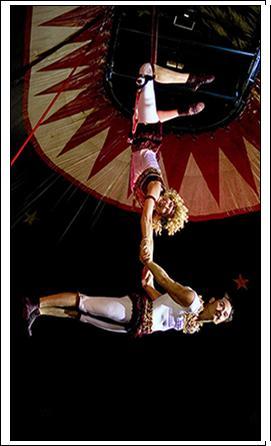 Людмила и Сергей в цирке