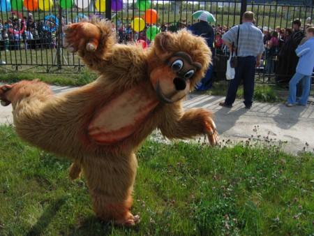 Ростовая кукла - медвежонок