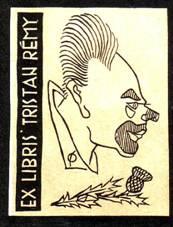 Книжный знак Тристана Реми.