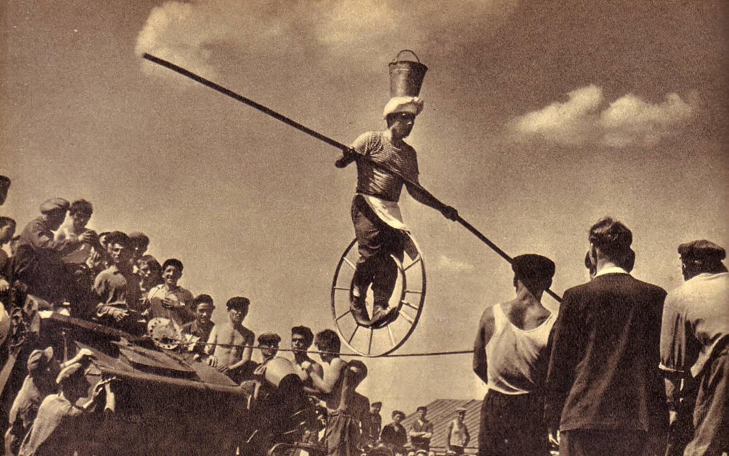 На целине. Фото артиста цирка С. Валуева