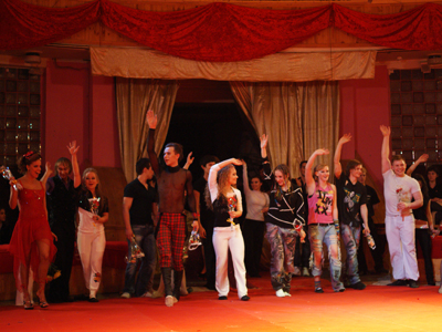 "Students of the Circus college have presented their ""Simple stories"""