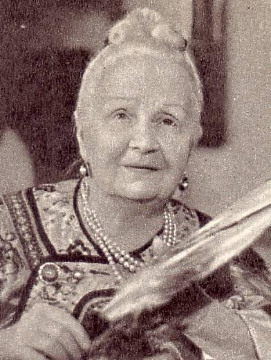 Народная   артистка   РСФСР   Е.  В.    ГЕЛЬЦЕР   1962 г.