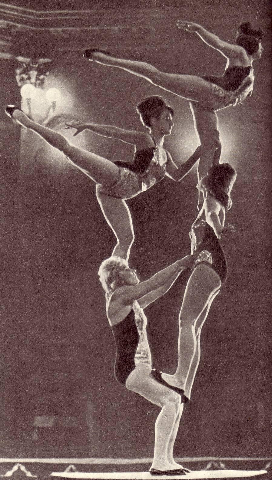 Акробатический этюд в исполнении Хоменко