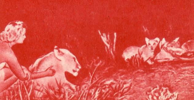 Джой Адамсон навещала Эльзу и ее потомство
