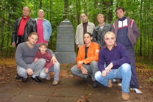 У памятника А.А. Дурова