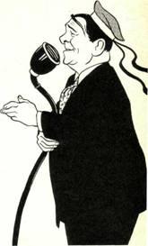 Дружеский шарж И. Игина