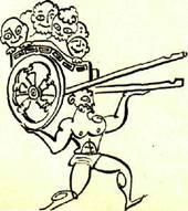 Милон Кротонский, ат¬лет Древней Греции, живший в VI ве¬ке до н. э.