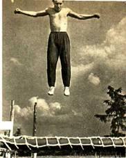 Лопинг – тоже цирковой снаряд на батуде