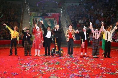 в Екатеринбурге Третий Всемирный фестиваль клоунов – уникальное событие мирового масштаба!!!