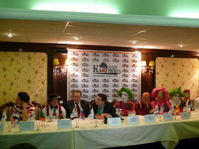 26 ноября в здании екатеринбургского цирка состоялась пресс-конференция, посвященная 3 Всемирному фестивалю клоунов
