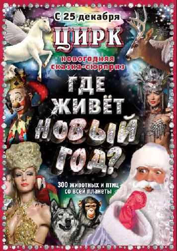 Новогодняя сказка-сюрприз «Где живет Новый год?».