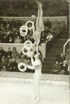 Уфа 1973 год. Зинаида и Юрий Бирюковы.