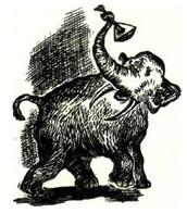 """Иллюстрация к рассказу """"Месть слона"""""""