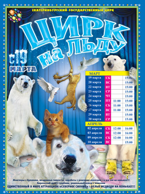 Цирк на льду Яны Шевченко