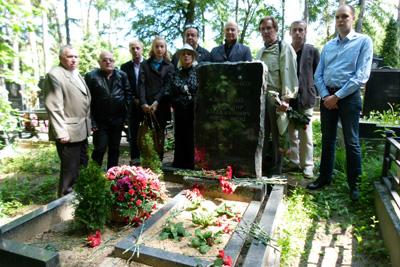 Цирковые деятели почтили память В.В. Довейко