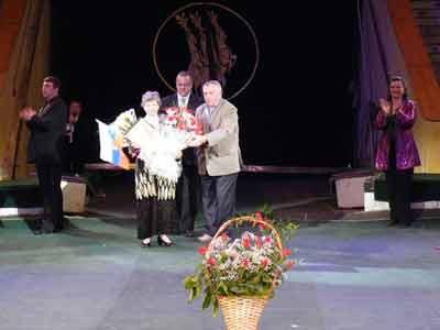 На манеже Ивановского цирка торжественное мероприятие, посвященное памяти великого артиста  М.Т. Симонова.