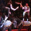 Жонглера на лошадях Руслана Яремчука