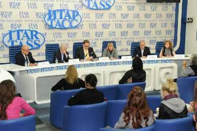 Пресс-конференция а ИТАР-ТАСС