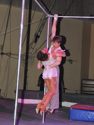 Гимнасты на турнике п/р С. Рокашкова - «Пьяццолла»