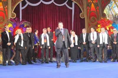 Жюри 5 Всемирного фестиваля в Москве