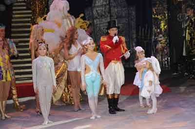Фестиваль-конкурс «Принцесса российского цирка» 2011 г.