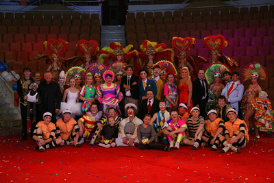Участники IV Всемирного фестиваля клоунов в Екатеринбурге
