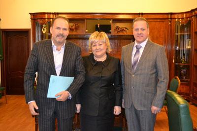 Генеральный директор компании «Росгосцирк» Ф.Р. Халилова провела официальную встречу с губернатором Ивановской области