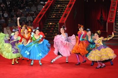 На манеже цирка Никулина на Цветном бульваре новая программа – «Цирк продолжается!»