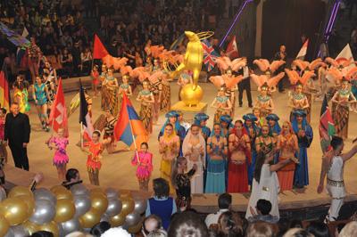 V Международный фестиваль циркового искусства в Ижевске