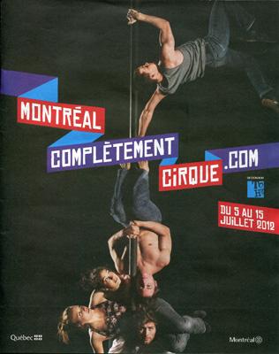 III Международный фестиваль циркового искусства в Монреале