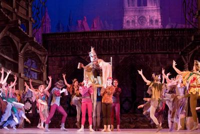 Cпектакль «Кремлевского балета» - «Эсмеральда»